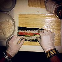 Učimo da pravimo suši #restoranginger #gingermeet #sushi