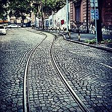 Dorćol #street #tram #tracks #belgrade